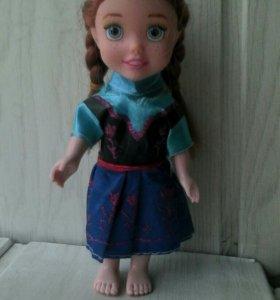 Кукла Анна из холодного сердце