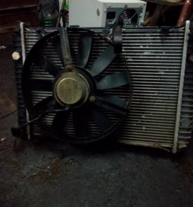 Радиатор газ волга