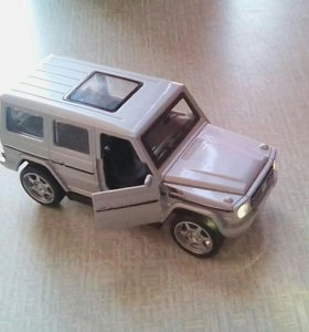 Модельная Машинка 1:34 Mercedes AMG G55