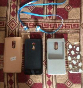 Чехлы Xiaomi Redmi note 4 iphone