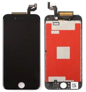 Дисплей на iPhone 6s чёрный/белый с заменой
