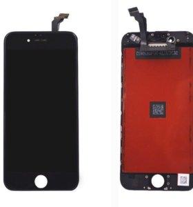 Дисплей на iPhone 6 чёрный/ белый с заменой