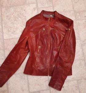 Брендовая кожаная куртка Gottardi