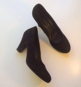Туфли Tamaris, натуральная замша