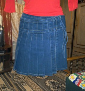 юбки-джинса