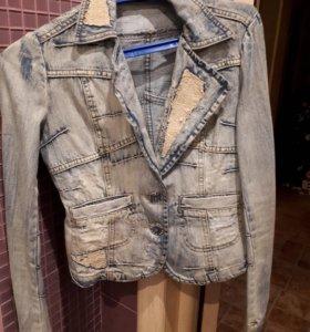 Джинсовый пиджак D&G