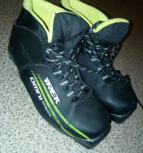 Ботинки лыжные 34-35 р-р