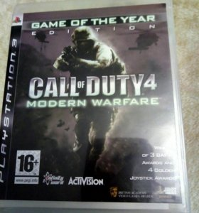 Call of DUTY 4 /ps3