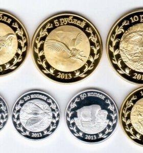 Набор монет Республика Адыгея Россия 2013 год