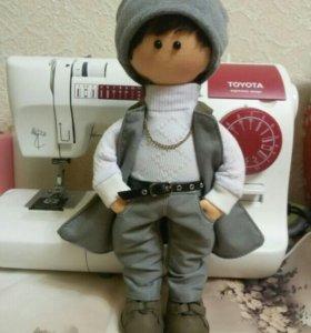 Куклы ручной работы текстильные
