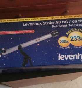 Телескоп Levenhuk Strike 50/60 ng