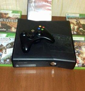 Xbox360 500g. 48 игр на памяти и 3игры на диске.👍
