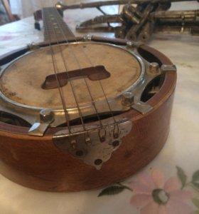 Укулеле (банджо) американская, антиквариат.