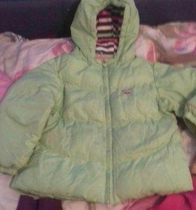 Куртки детские для девочки на выбор