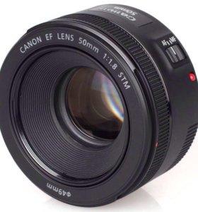 Бленда для объектива Canon 50mm f/1.8 STM