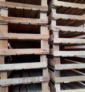 Однорядные деревянные ящики 50 руб шт.
