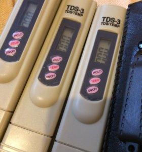 Тестер воды TDS metr. Солемер. Измеритель чистоты.