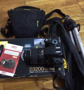 Фотоаппарат Nikon D3200 18-55ll Kit + Аксессуары