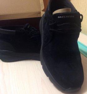 Мужские демисезонные ботинки Skechers