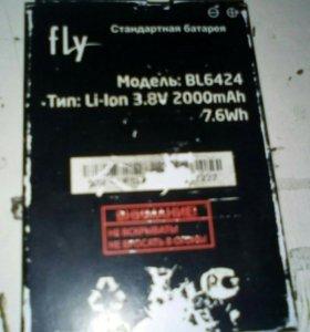 Батарея на fly BL6424
