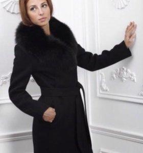 Пальто утеплённое зимнее