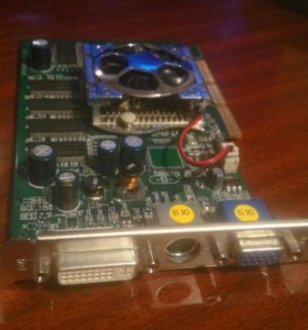 Видеокарта NVidia GForce5500 128mb