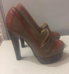 Туфли кожа, 35 размер