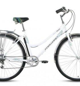 Совершенно новый городской велосипед