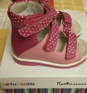 Ортопедические туфли для девочки