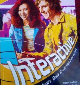Interactive A2-B1 учебник и рабочая тетрадь