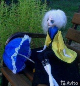 Кукла ручной работы.