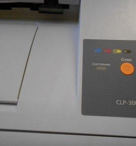 Принтер Самсунг CPL 300 цветной