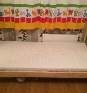 Кровать ИКЕА Икея с матрасом