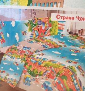 Комплект постельного белья детский 1.5