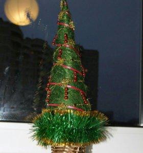 Подарки сувениры топиарий елочка