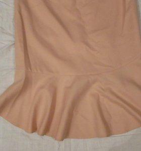 юбка шерсть