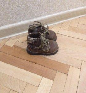 Детские ботинки из натуральной кожи