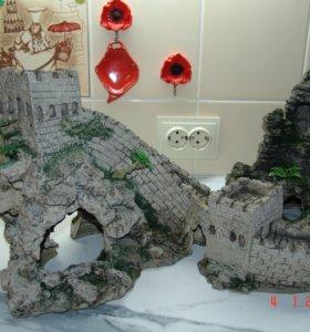 Замок со скалой ( ансамбль)