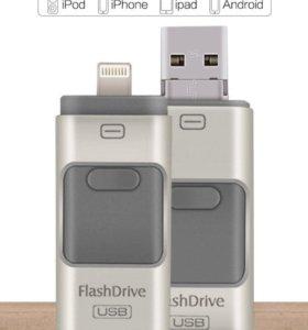 FLASH DRIVE USB ADAPTER FOR IPHONE/IPAD/IPOD 16gb