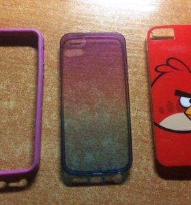Чехлы для iPhone 5/s/SE