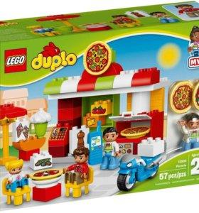 Новое Лего Дупло Пиццерия 10834