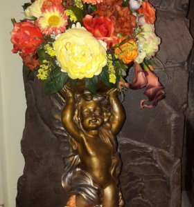 Статуэтка ангелочек 70 см
