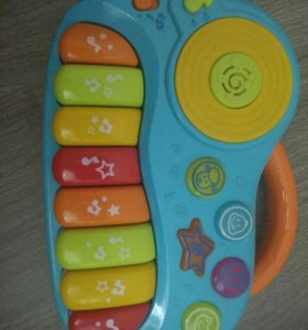 Детское интерактивное пианино и сортер