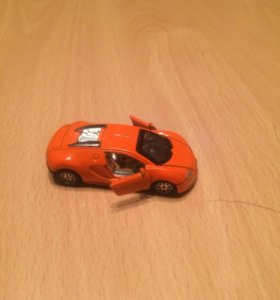 Модель машины бугати