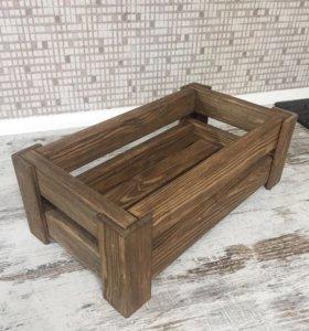 Декоративный ящик-кашпо