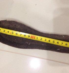 Майорские унты. Размер 33. 21 см по стельке