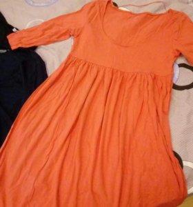 Одежда для беременных. Джинсы, кофточка, платья.
