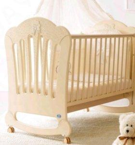 Детская кровать Pali со сваровскими