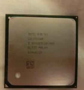 Процессор Intel Pentium IV Celeron