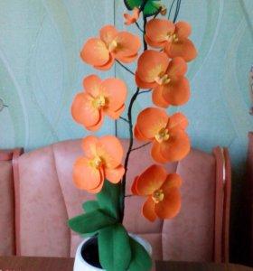 Орхидеи из фоамирана на заказ